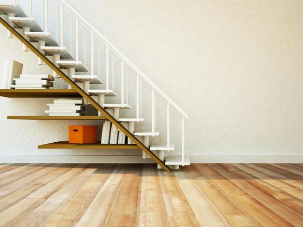 Маршевые лестницы наиболее распространены