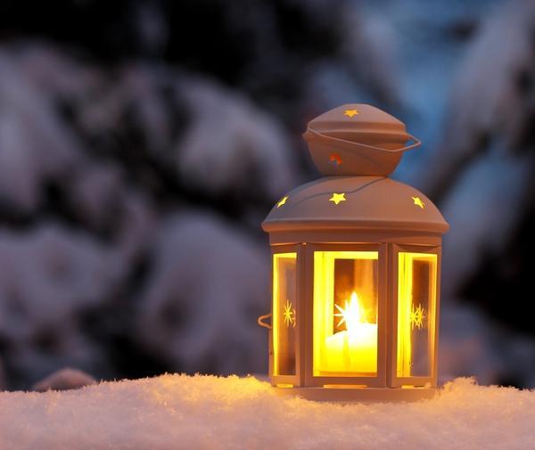 Продумайте заранее вопрос о зимнем садовом освещении