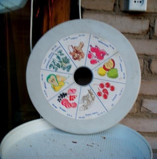 Инструкция на крышке сушилки для овощей. Все понятно