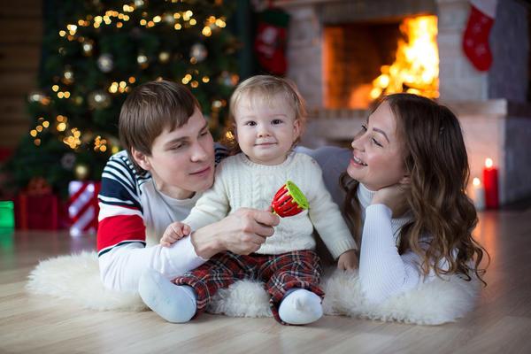 Встреча Рождества на даче - это возможность побыть с близкими и друзьями