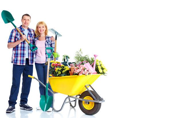 При помощи подручных средств можно соорудить весьма неплохую садовую тачку на радость себе и зависть соседям.