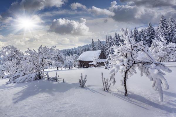 Зернистый снег