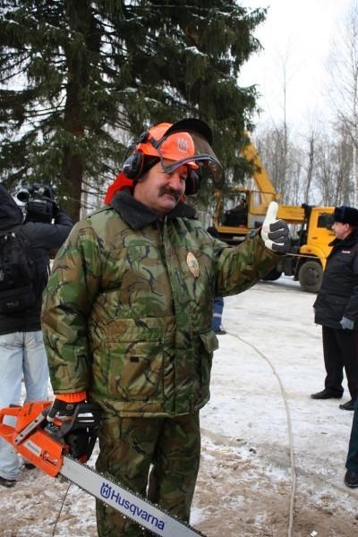 Лесничий Иван Новожилов