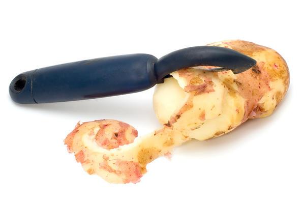 Приспособление для чистки картофеля