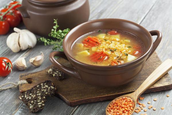 Суп в бульоннице
