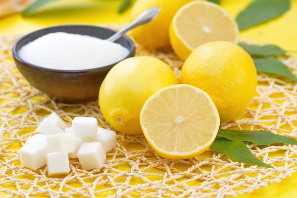 Пилинг с лимоном