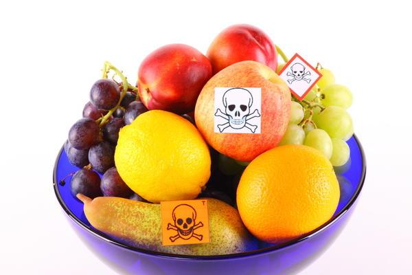 Сода против пестицидов