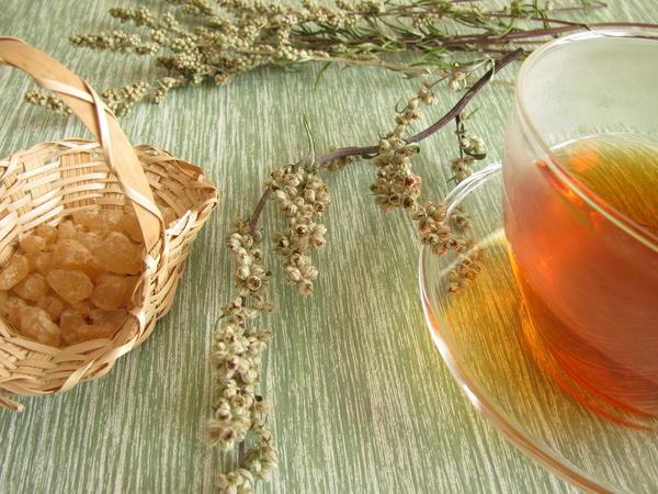 Чай с полынью