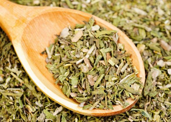 Сушёная трава полыни