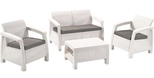 Пластиковая плетеная мебель Keter