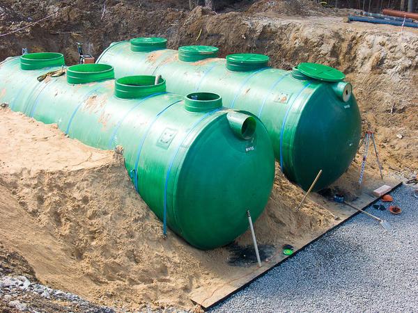Монтаж автономной станции глубокой очистки сточных вод