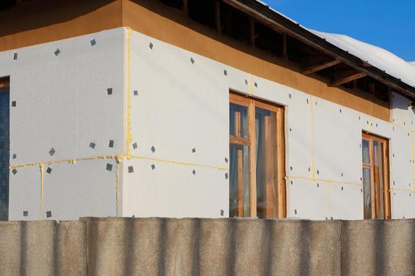 Утепление стен деревянного дома пенополистиролом