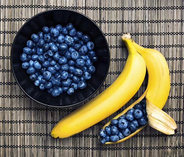 Варенье из черники с бананом