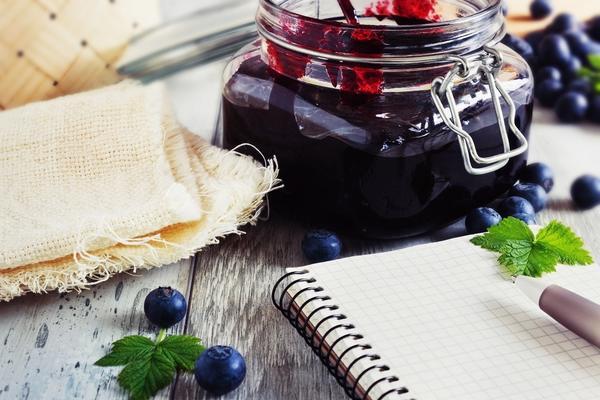 Варенье из черники и черной смородины
