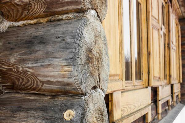 Утеплении деревянного дома