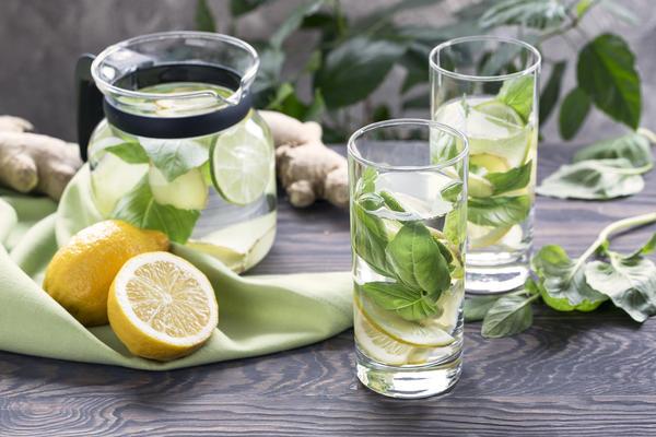 Райхановый напиток из базилика