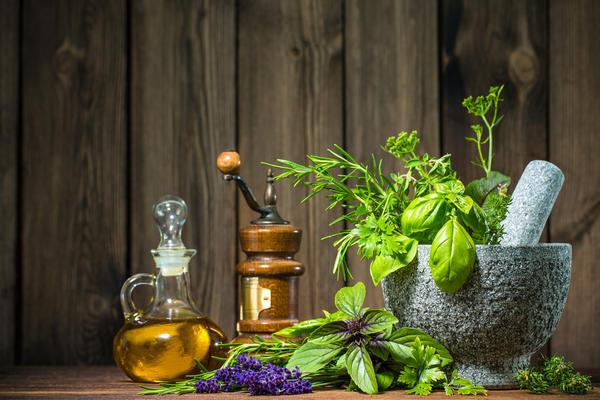 Оливковое масло с душистыми травами
