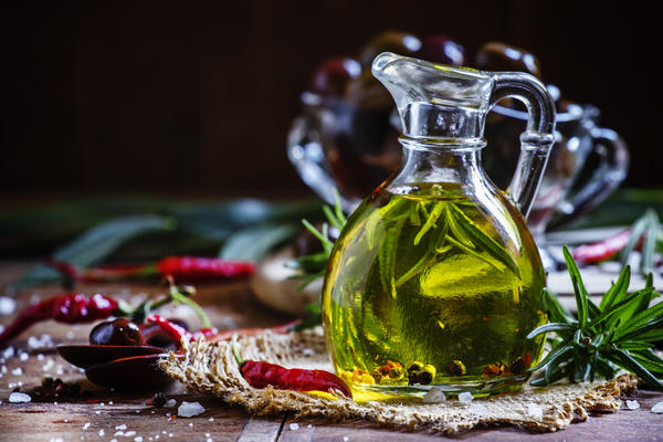 Ароматное растительное масло