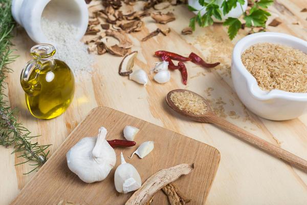 Ароматное масло с сухими белыми грибами