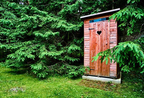 Нет фекалиям из уличного туалета!