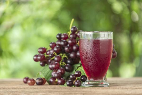 Виноградный сок с ванильным ароматом