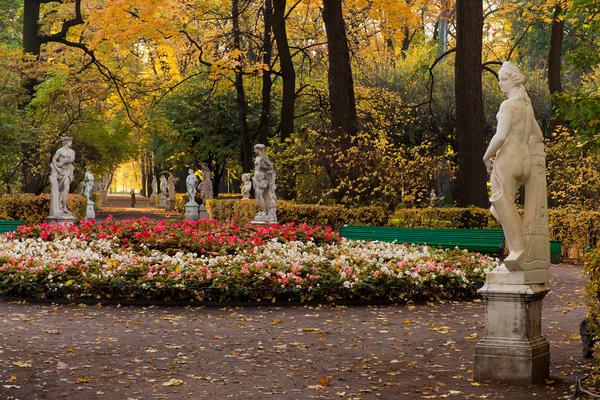 Скульптуры Летнего Сада (г. Санкт-Петербург)