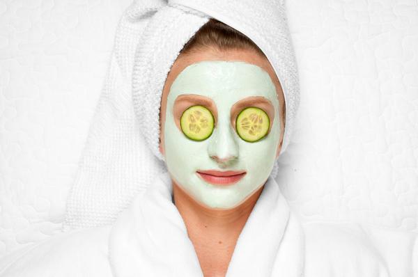 Огуречные маски полезны для любой кожи