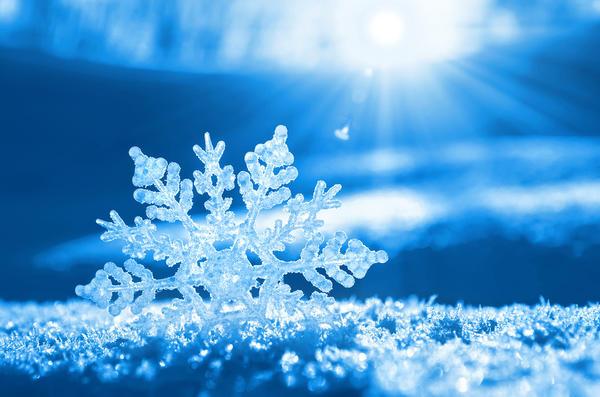 Снежинка - маленькое чудо природы