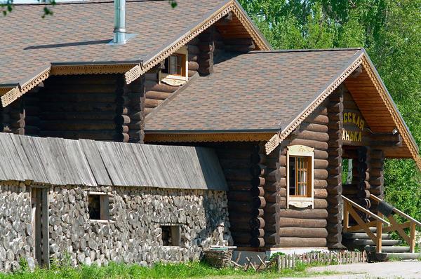 Русская деревянная баня