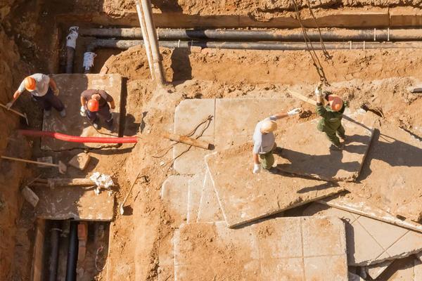 Устройство дренажа при строительстве