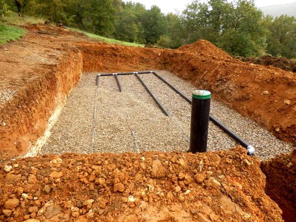 Планируя дренажную систему, учитывайте устройство автономной канализации