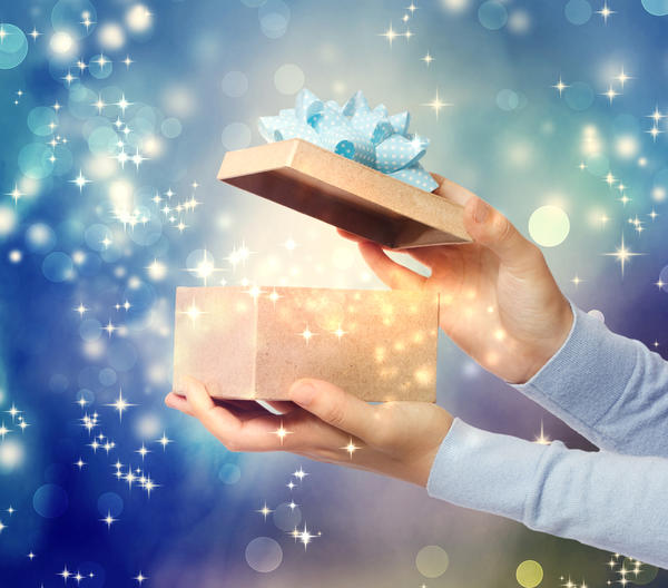 Новогодние подарки - это всегда немного волшебство