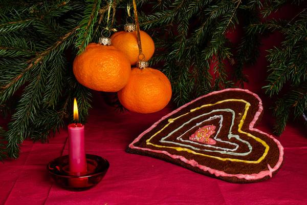 Мандарин - новогодний фрукт