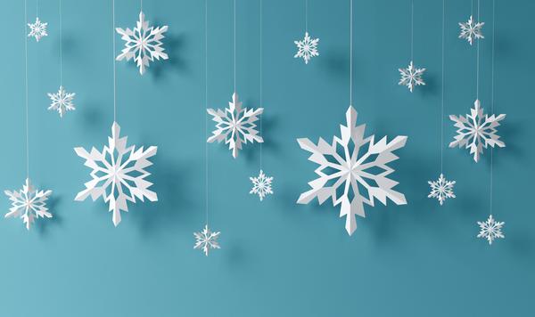 Бумажные снежинки - изящные и нежные новогодние украшения