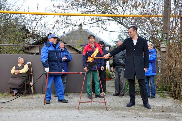 Газификация села: церемония пуска газа © Анна Мартынова / Фотобанк Лори