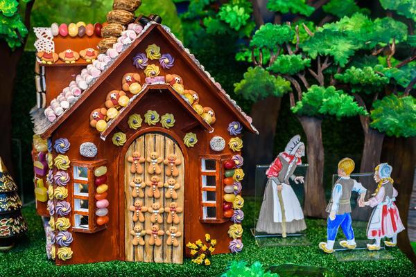 Пряничные домики очень популярны в Европе