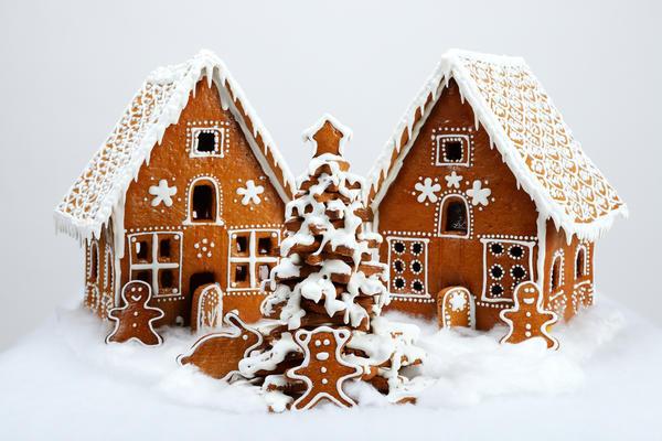 Пряничные домики могут быть настоящими произведениями кулинарного искусства