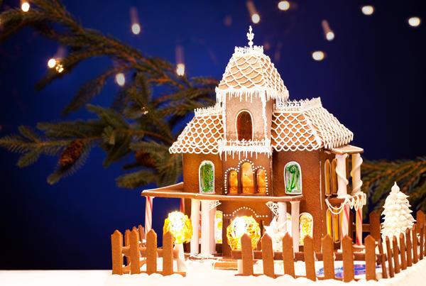 Искусный пекарь может построить целый пряничный дворец