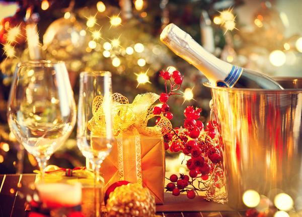 Новогодний стол - особенная тема