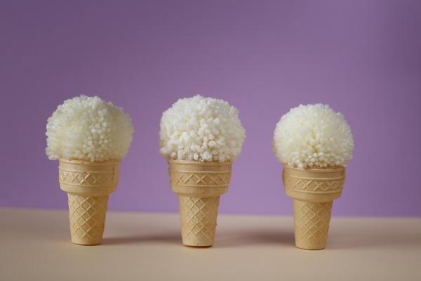 Новогоднее мороженое