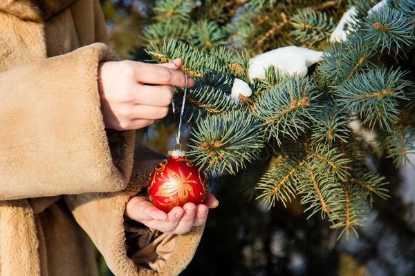 Этот шарик нужно повесить на ёлку 31 декабря
