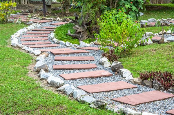 Садовые дорожки - часть дренажной системы