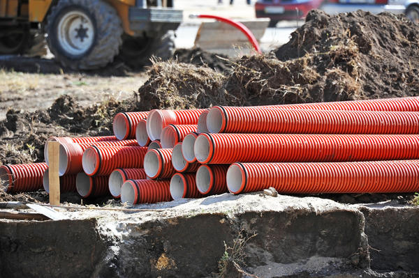 Устройство глубинного дренажа - часть масштабных работ по строительству и благоустройству