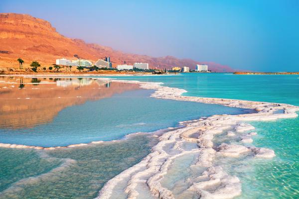 Мёртвое море. Высолы на берегу