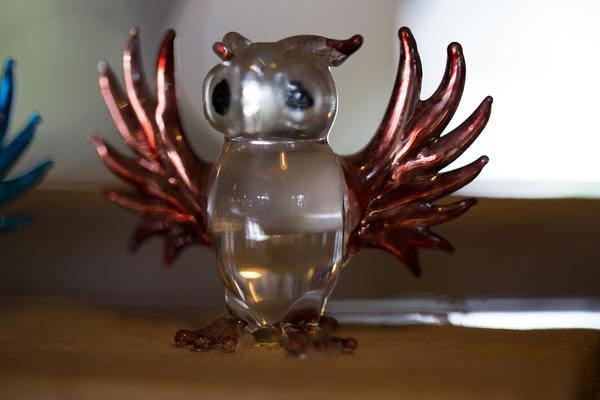 Хрустальная или просто стеклянная сова - отличный подарок поклоннику клуба знатоков