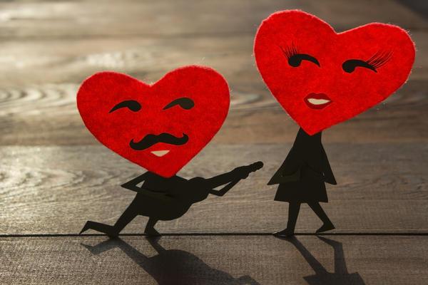 Не просто сердце, а знак настоящих чувств.
