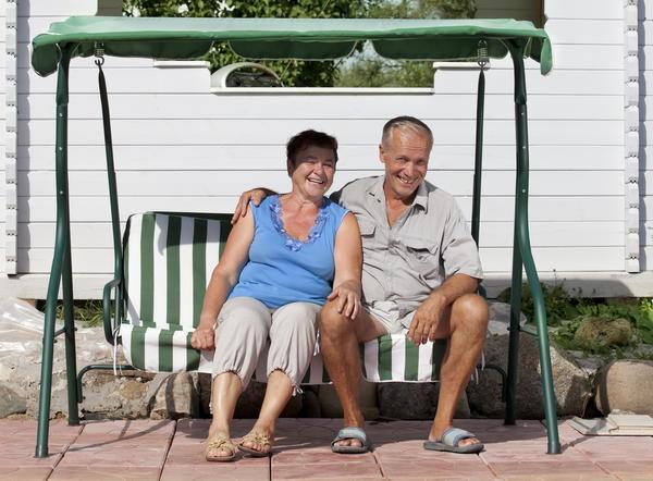 Хорошая жена, хороший дом - что ещё надо человеку, чтобы встретить старость