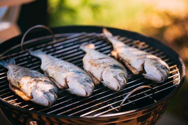 Рыбка на гриле - что может быть вкуснее?