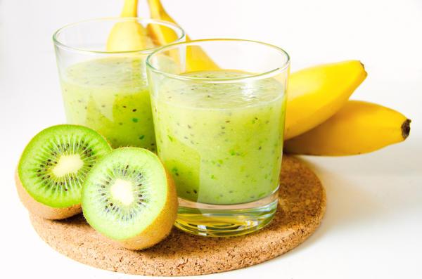 Если добавить в этот напиток больше киви, вы получите усиленный заряд витамина С