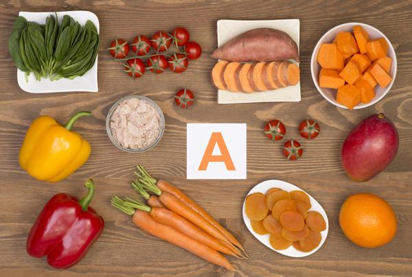 Бета-каротин содержится в овощах и фруктах оранжевого цвета